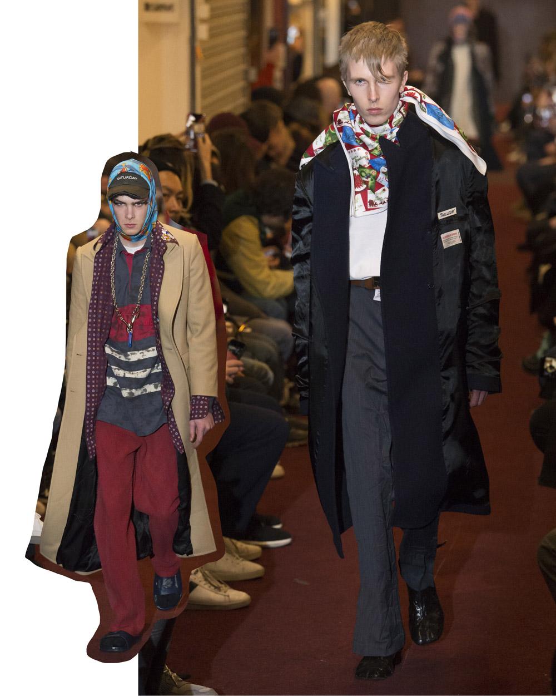 Vetements FW18 Men's collection - menswear trends
