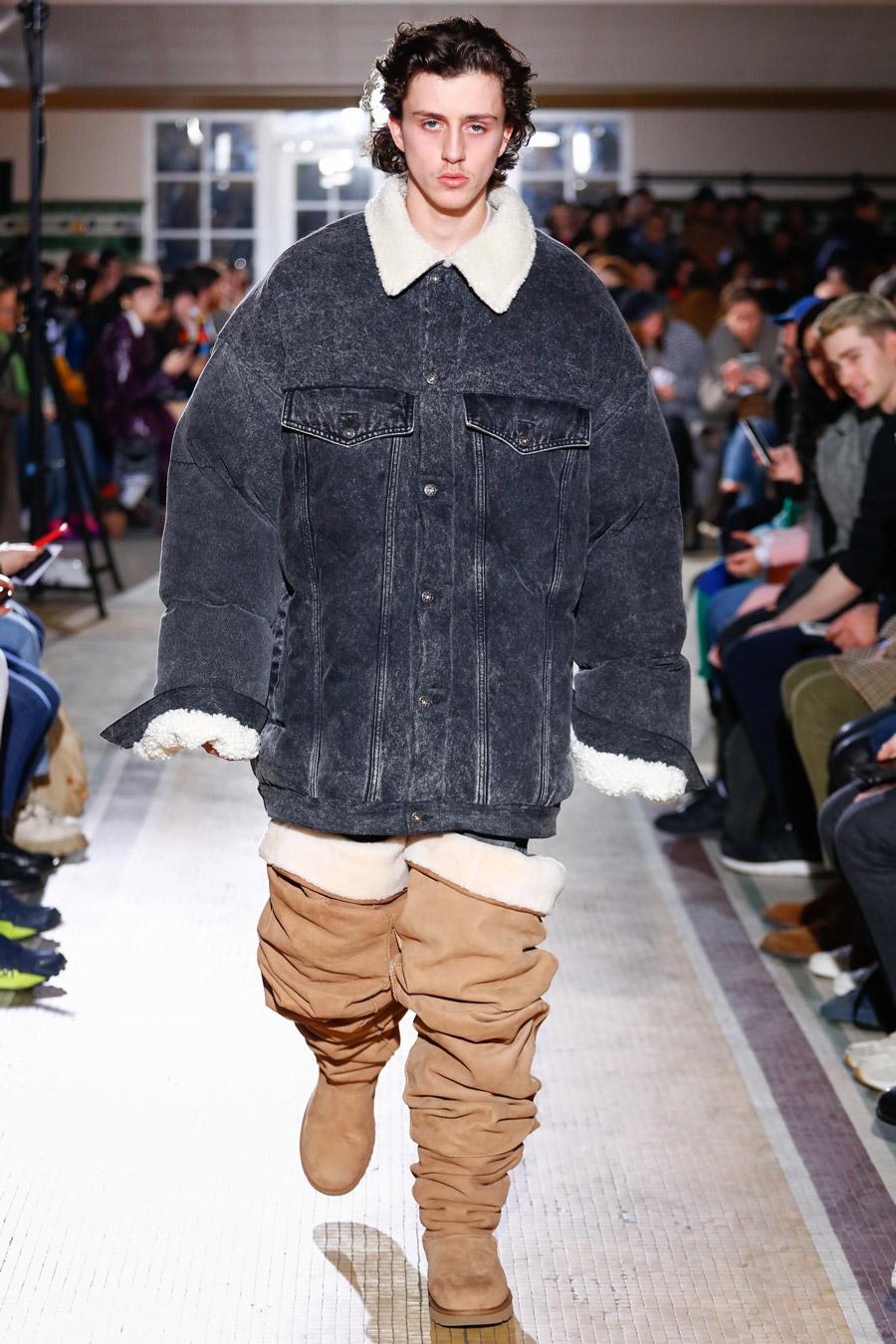Y/Project FW18 Menswear trends