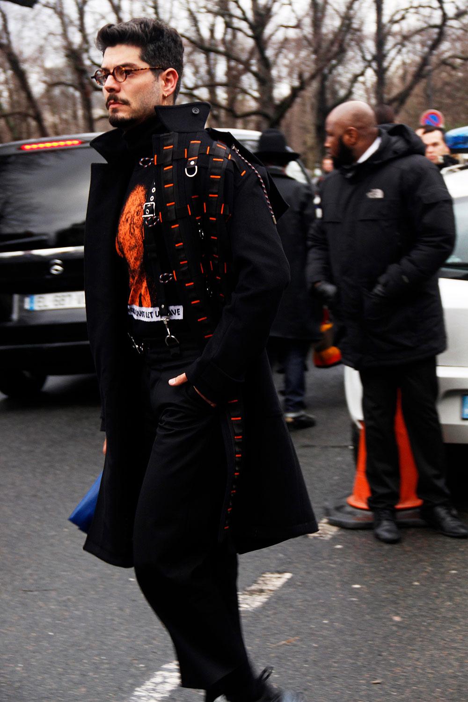 Street Style at Paris fw18 Men's Fashion Week