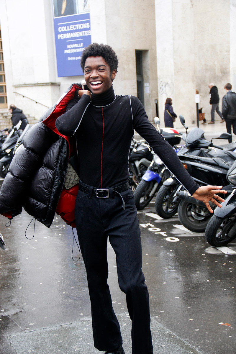 The Best Street Style Moments at Lanvin