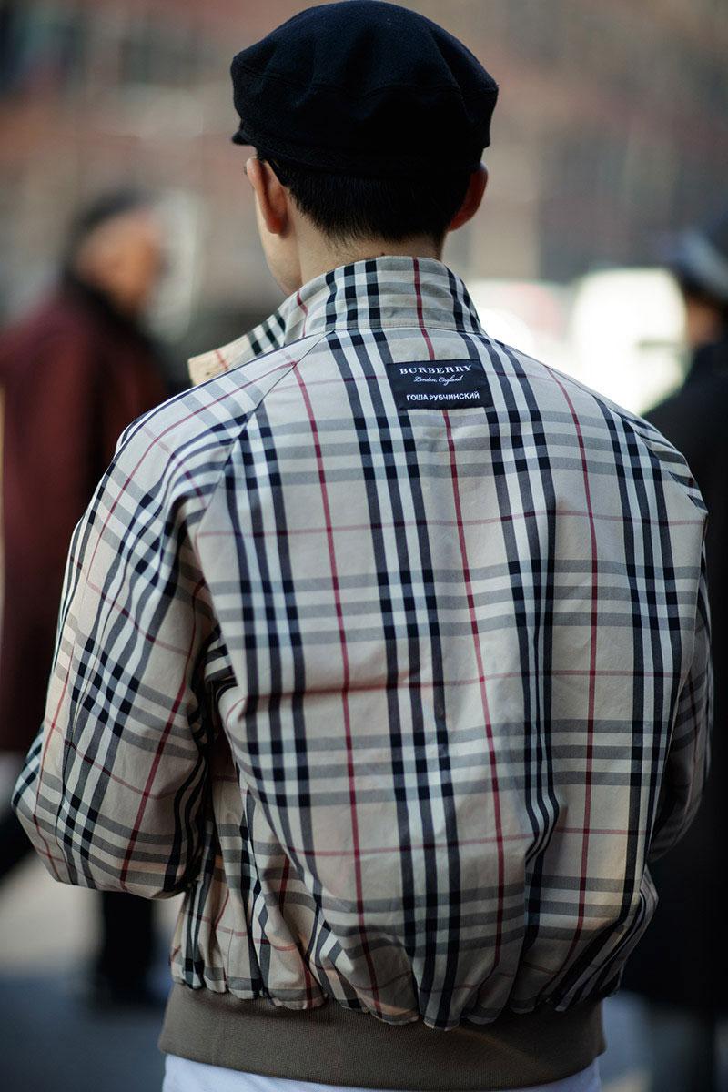 Burburry plaid jacket