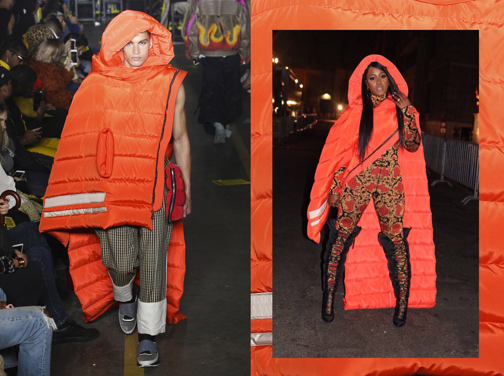 Remy Ma in Junjie Yang, a label from Antwerp - ENFNTS TERRIBLES