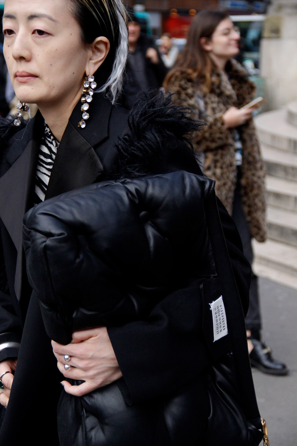 Street Style Looks from Paris Fashion Week Fall 2018 Part - ENFNTS TERRIBLES Magazine