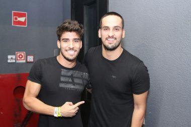 Guilherme Leonel e Léo Rodriguez