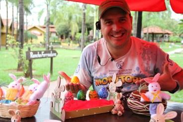 André Nasorri - Tio Tomte exibe ovinhos decorados
