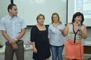 Corpo docente do UAMI foi apresentado aos participantes