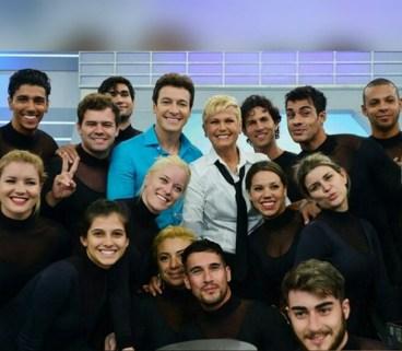 Rodrigo Faro , Xuxa Meneghel e elenco