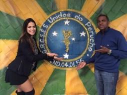 Nuelle Alves e Presidente Ney