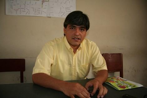 Víctor Hugo del Carpio, gerente de Transportes de la MPT. (Copy)