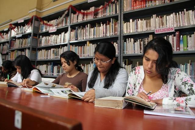 Biblioteca de la MPT
