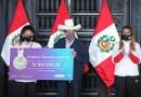 """Presidente Castillo: """"trabajaremos con el IPD para impulsar el deporte sin discriminación"""""""