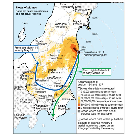 Japanese Officials Deny Newer Radiation Readings and Effects