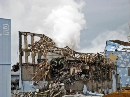 Fukushima Daiichi Unit 3 after explosion - March 20th, 2011 - 1