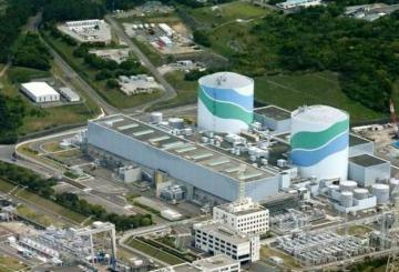The two PWR reactors at the Sendai nuclear power plant in Japan.