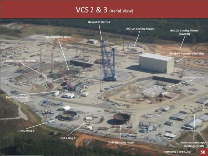 VC Summer nuclear power plant