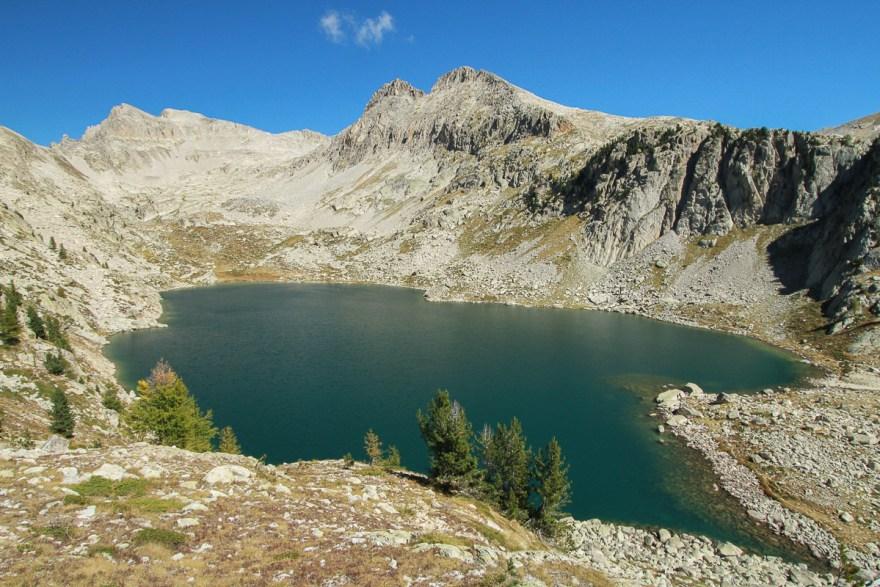 lac negre dans le Mercantour