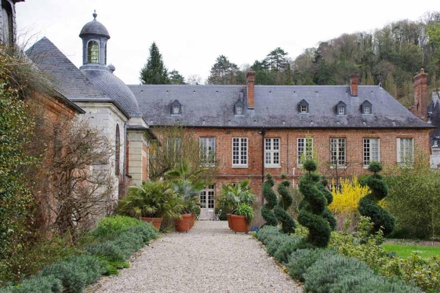 jardins d'Acquigny dans l'Eure en Normandie