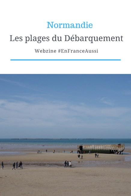 Visiter les plages du débarquement de Normandie #EnFranceAussi