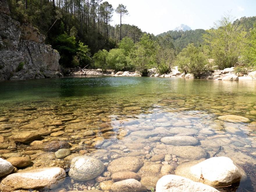 la rivière solenzara - Corse