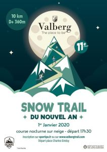 snow trail - Valberg