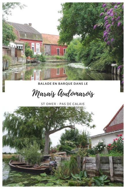 Visiter le Marais Aumarois en barque traditionnelle - Saint-Omer - Pas de Calais