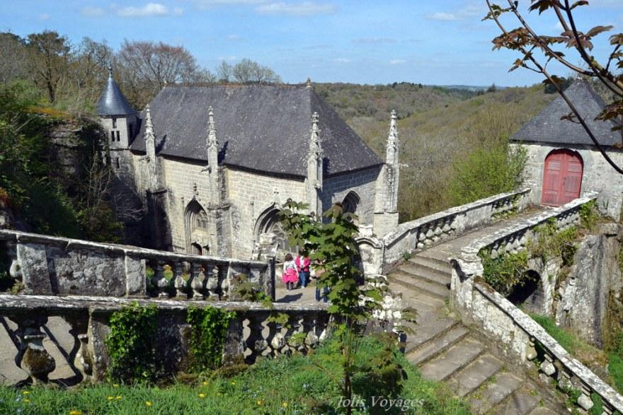 Chapelle Sainte-Barbe - Le Faouet (Bretagne)