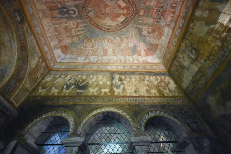 Chapelle des Anges de l'abbatiale de St Chef, Isère