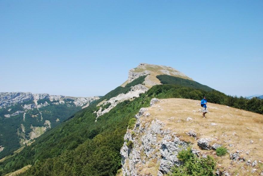 Randonnée sur le plateau d'Ambel, Vercors Drôme