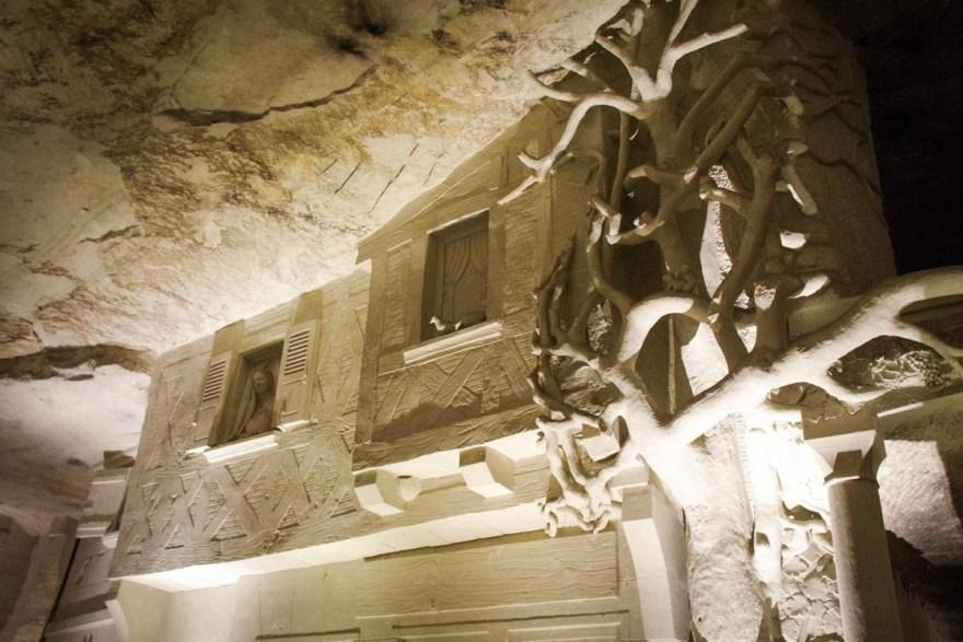 village souterrain de Bourrée