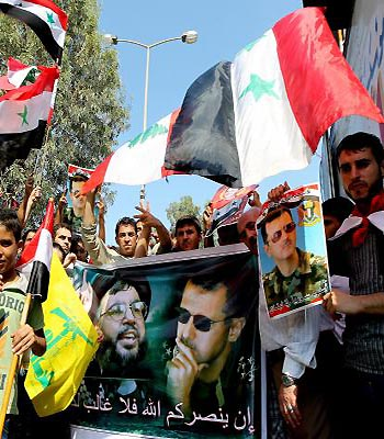 Hezbollah foes say support for Assad puts Lebanon at risk
