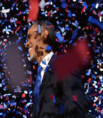 Americans hand Obama a second term, challenges await