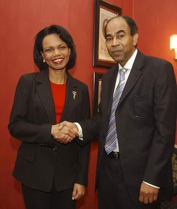 Interview with US Secretary of State Condoleezza Rice