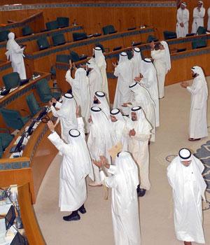 Kuwait parliament votes to refer electoral bill to court