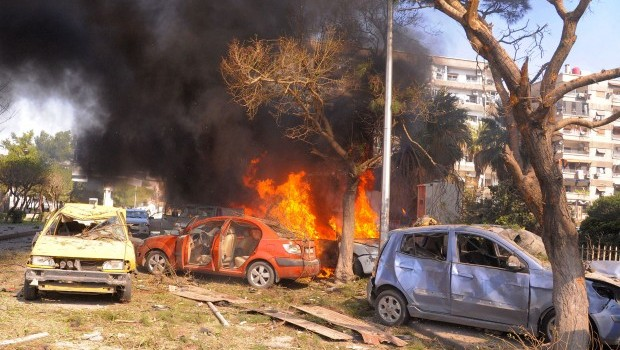 Car Bombing Rocks Damascus as Spillover in Lebanon Worsens