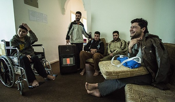 Syrian Rebels Recover Behind the Front Lines