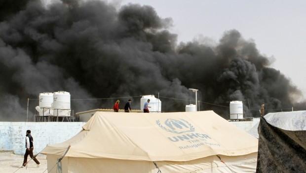 Syrian Refugee Dies in Tent Blaze