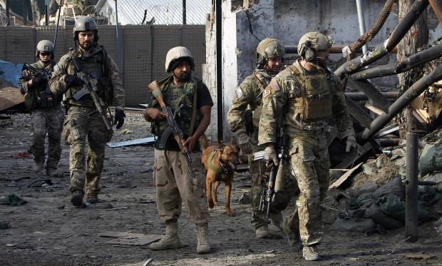 Two U.S. Soldiers Killed in Afghanistan's Kunduz