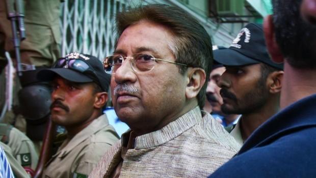 Pakistani Judge Orders Musharraf Held for 2 Weeks