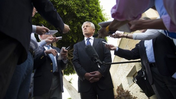 Hagel Concludes First Middle East Visit