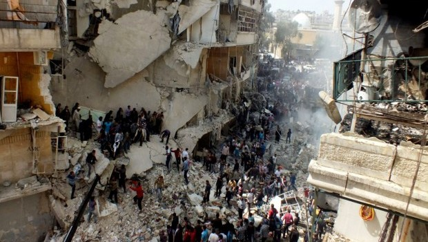 Report Says Syrian Air Attacks Indiscriminate