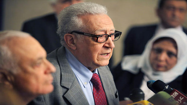Brahimi Considers Resignation as Arab League Envoy