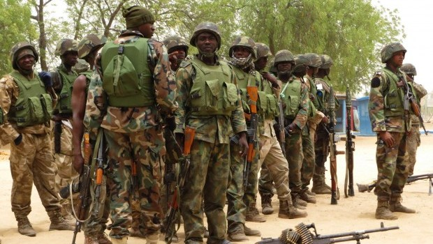 Nigeria says 10 rebels killed in northeast, 65 arrested
