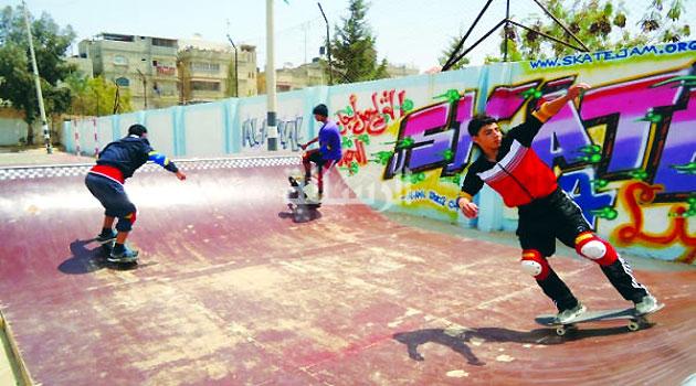 Gaza's skaters break free