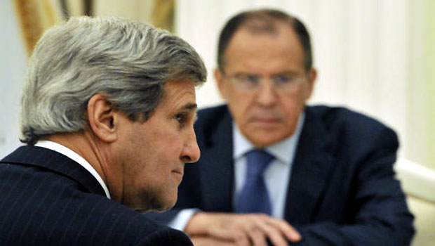 US and Russia to push for conference to end Syrian crisis