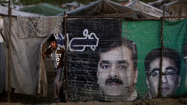 Gunmen snatch former Pakistani PM's son at rally