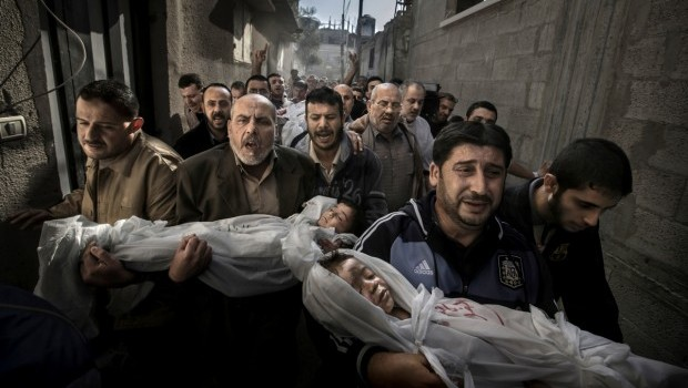 """Gaza Burial"" photo reaffirmed as prizewinner"
