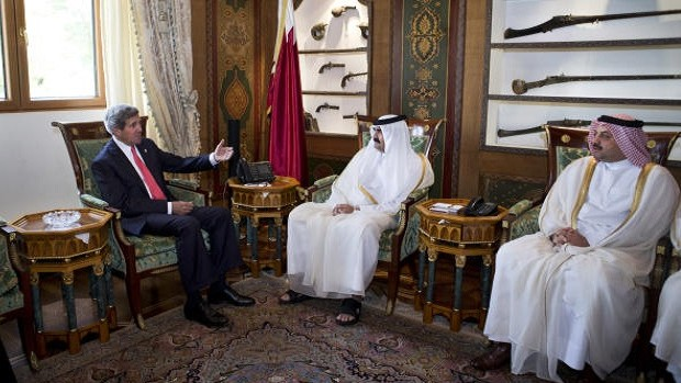 Doha meeting pledges to shift balance of power in Syria