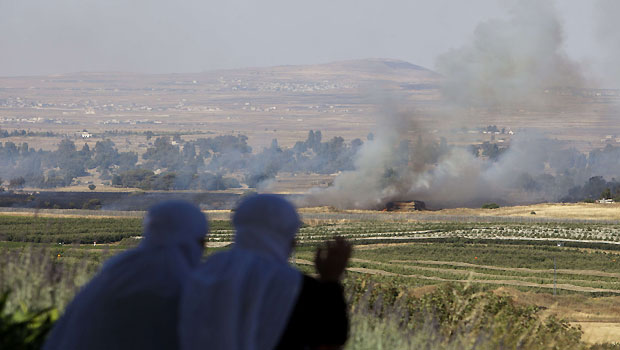 Syria conflict spreads to the Golan Heights