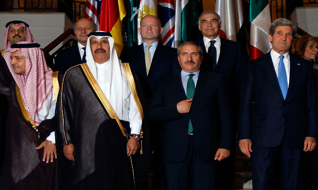 Friends of Syria meeting in Qatar to discuss arming rebels
