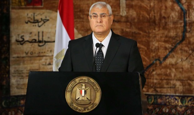 Egypt: Mansour pledges security as Brotherhood protest